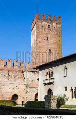 Tower And Museum House Of Castelvecchio