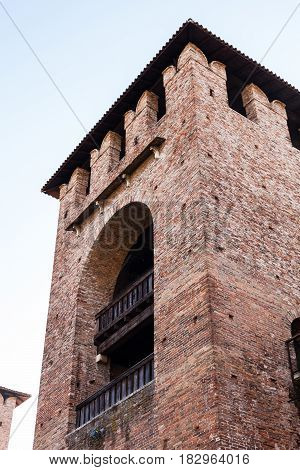 Tower Of Castelvecchio (scaliger) Castel In Verona