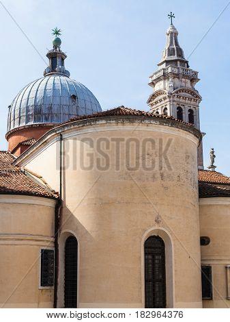 Dome Of Chiesa Santa Maria Formosa In Venice