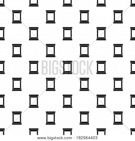 Napkins pack pattern seamless in simple style vector illustration