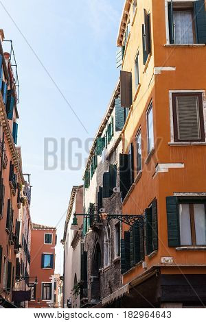 Residential Houses On Street In Venice Town