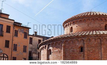 View Of Rotonda Di San Lorenzo In Mantua