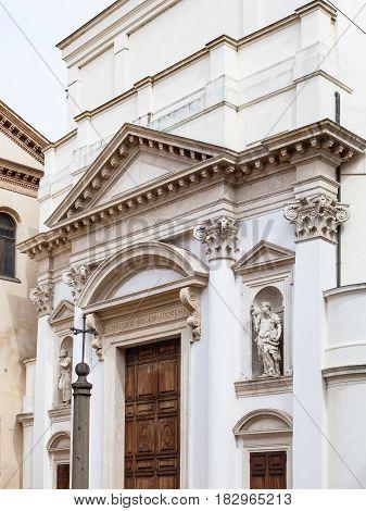 Chiesa Di Santa Lucia In Padua City
