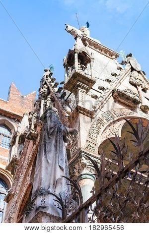 Gothic Style Arche Scaligere (scalige Tombs)