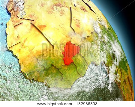 Burkina Faso From Space