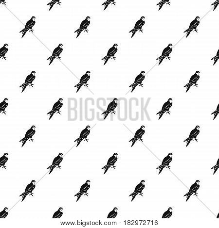 Falcon pattern seamless in simple style vector illustration