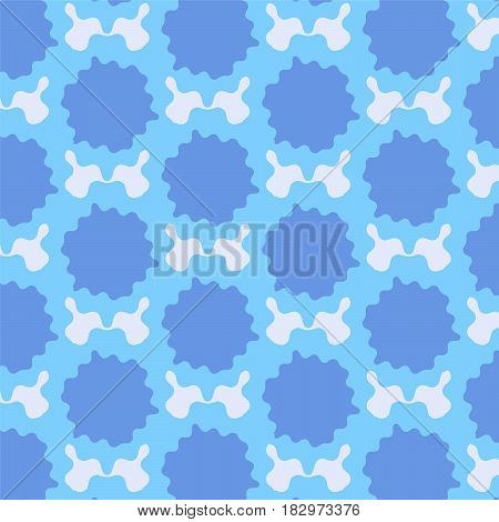 blue shade dropped mark pattern background vector illustration image