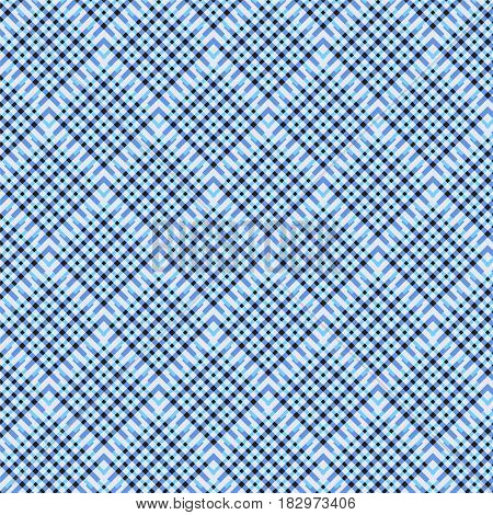 blue shade line and black square weaving pattern background vector illustration image