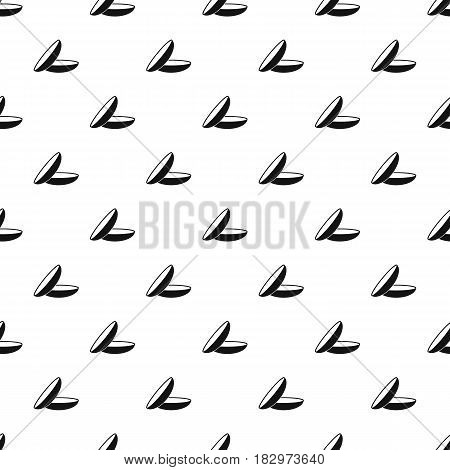 Contact lenses pattern seamless in simple style vector illustration