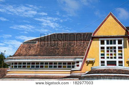 Ancient Dalat Railway Station In Vietnam