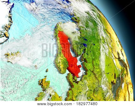 Sweden From Space