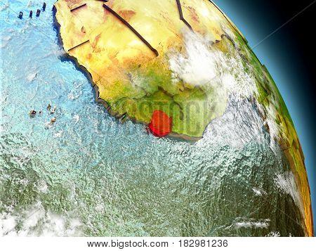 Sierra Leone From Space