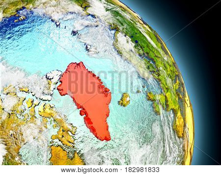 Greenland From Space