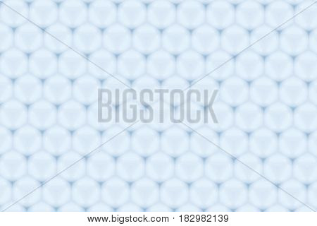 Hexagon Glossy Blue Cell Pattern Abstract Background