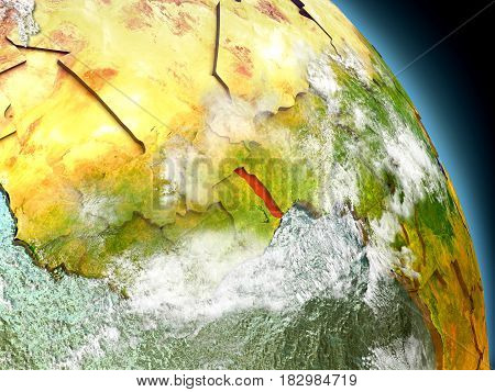 Togo From Space