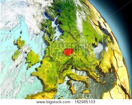 Czech Republic From Space