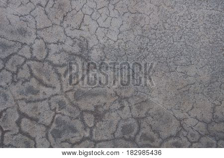 A Fractured cement wall for background. Texture of biton