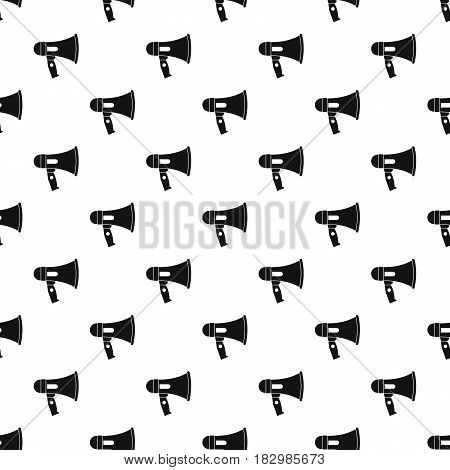 Mouthpiece pattern seamless in simple style vector illustration