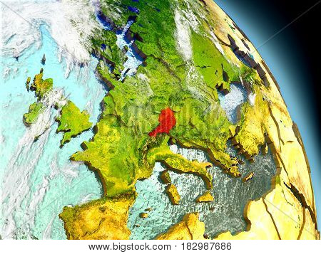 Austria From Space