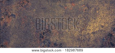 Old granite texture. Abstract Grunge Background. Wide Screen Web Banner With Copy Space