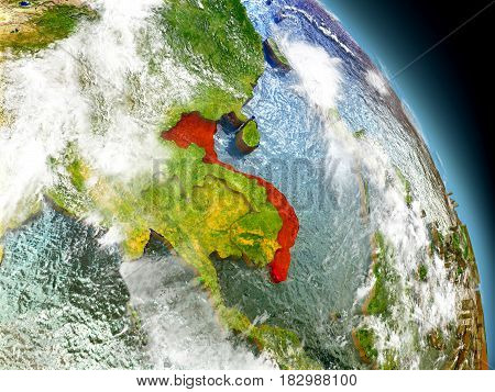 Vietnam From Space