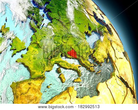 Bosnia From Space