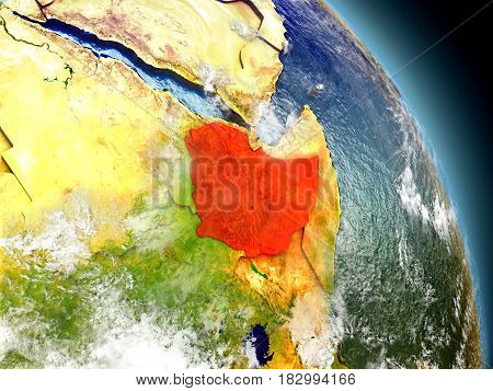 Ethiopia From Space
