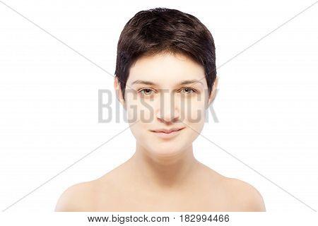 Girl With A Short Hair
