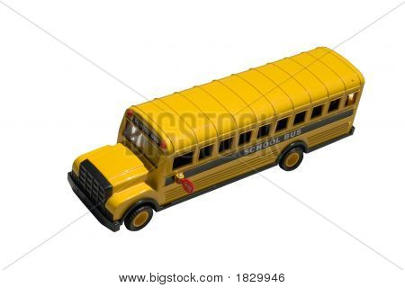 Toy School Bus Top
