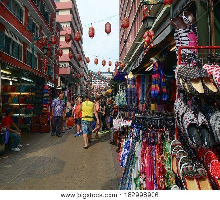 Street Market In Kuala Lumpur, Malaysia