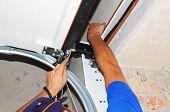 Contractor repair Garage Door Springs. Garage door seal garage door springs garage door replacement garage door repair. Repair Garage Door Opener. poster