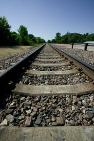 Railroad Track Vanishing Point