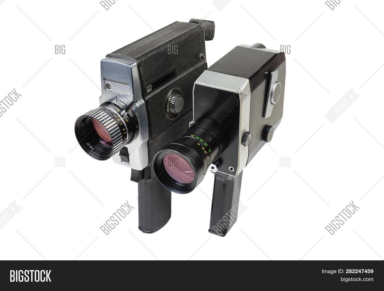 8Mm Vintage Camera two old vintage image & photo (free trial) | bigstock