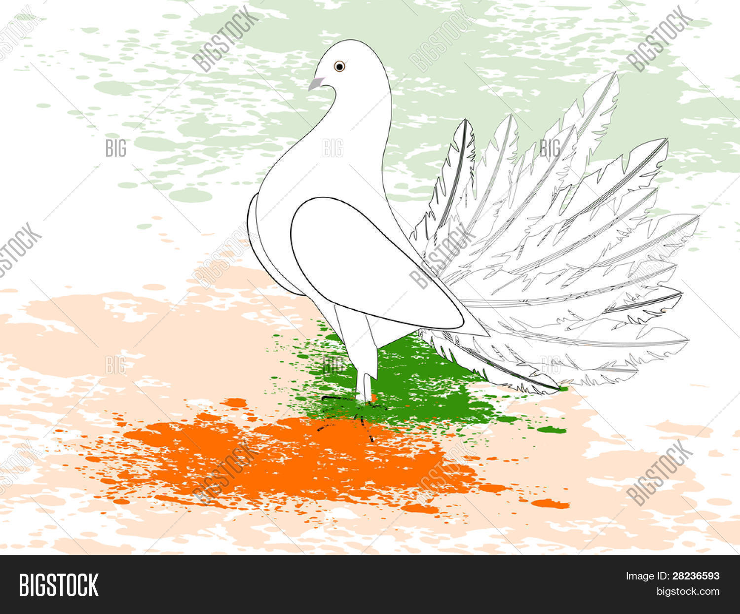 Greeting Card Draw Vector Photo Free Trial Bigstock