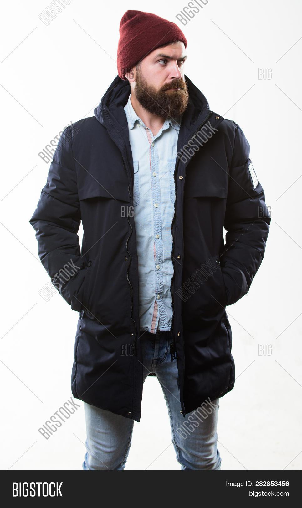 11cf2fa9041 Guy Wear Hat Black Image & Photo (Free Trial) | Bigstock