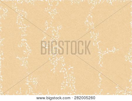 Abstract Background With Scratched Texture And White Blotches, Grunge. Vector With Noise, Textured M
