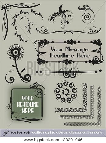 Decorative Vector Design Elements