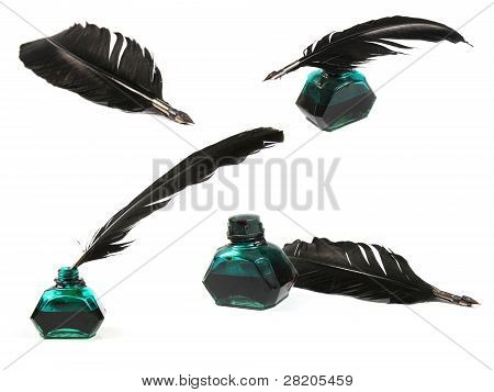 Collection Of Quill Pen