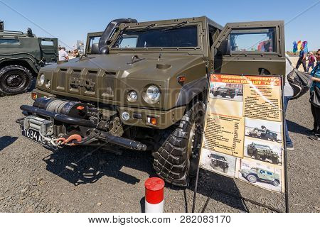 Kadamovskiy Training Ground, Rostov Region, Russia, August 26, 2018: International Military Technica