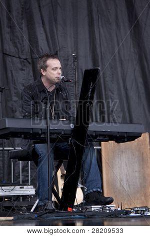 Clark, nj 12. September: Greg Varlotta führt auf dem union county Musik Fest am September 12, 201