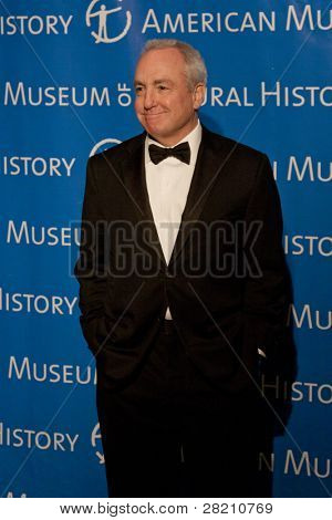 NEW YORK - NOV 10: Creator/Producer of Saturday Night Live Lorne Michaels attends the American Museum of Natural History's  2011 Gala on November 10, 2011 in New York City, NY.