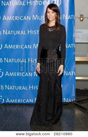 NEW YORK - NOV 10: Saturday Night Live cast member Kristen Wiig attends the American Museum of Natural History's  2011 Gala on November 10, 2011 in New York City, NY.