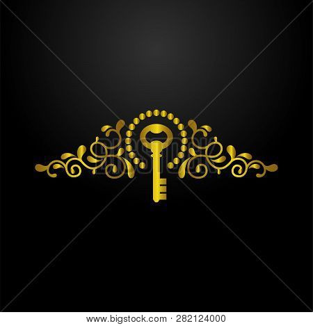 Luxury Key Chain Logo, Classic And Elegant Logo Designs For Industry And Business, Interior Logo,rea