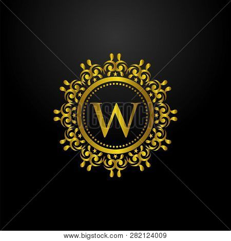 Luxury Logo, Letter W Logo, Classic And Elegant Logo Designs For Industry And Business, Interior Log