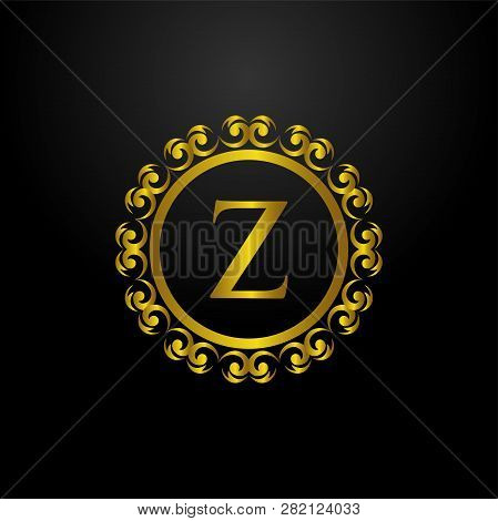 Luxury Logo, Letter Z Logo, Classic And Elegant Logo Designs For Industry And Business, Interior Log