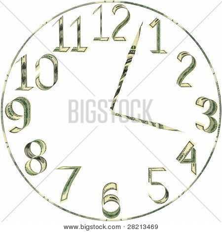 Dial Of Hours From Dollars