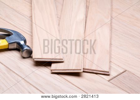 Installing A New Hardwood Floor