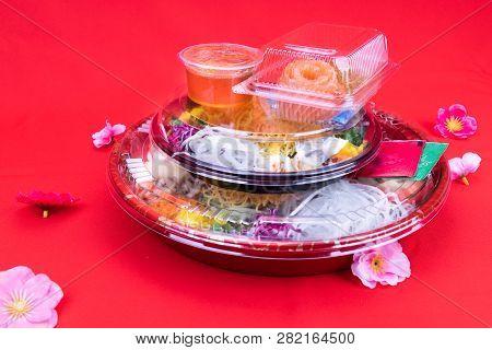 Takeaway Pack Of Yee Sang Or Yusheng For Convenience