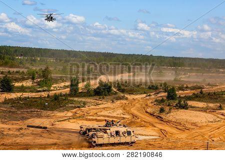 Nato Soldiers. International Military Training