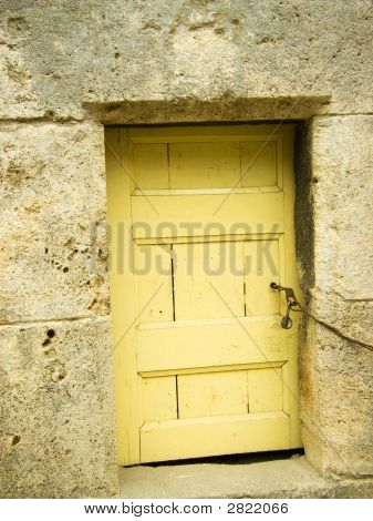 Locked Door at the Bottom of Minaret poster